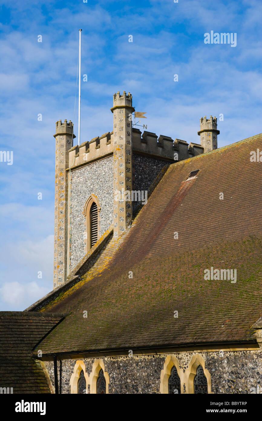 Remenham St Nicholas Church, Remenham, Oxfordshire, England, United Kingdom, Europe Stock Photo