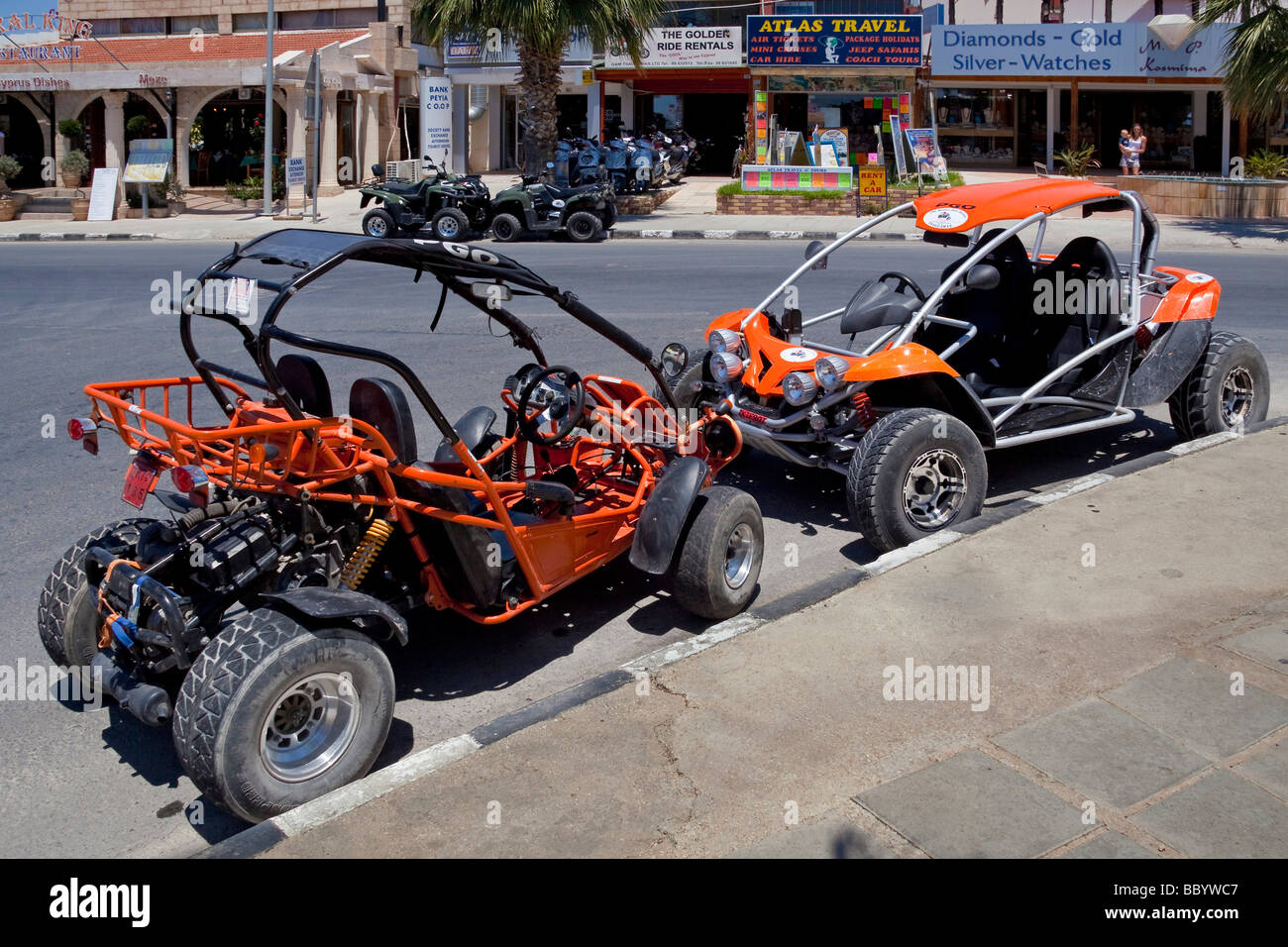 buggy car rental	  Beach Buggies Stock Photos