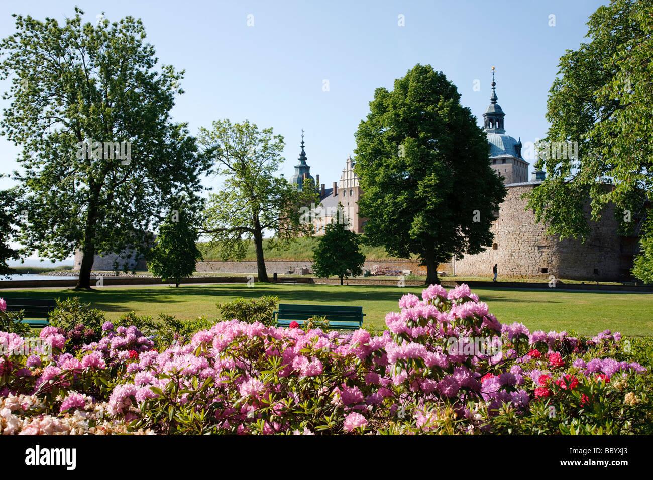 Kalmar Castle, Kalmar (Sweden) - Stock Image