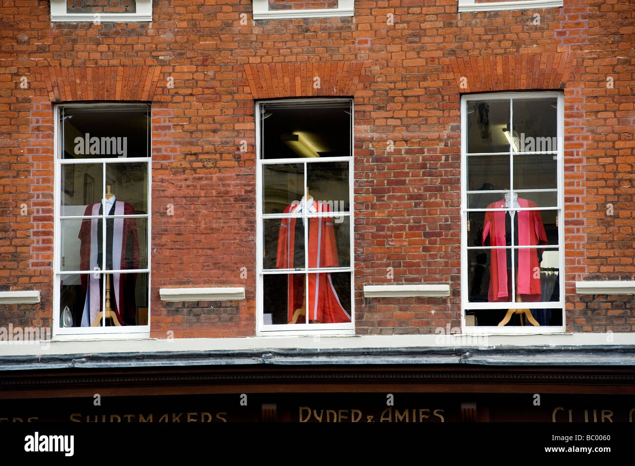 Cambridge university education elite robes graduate graduation Britain learn pomp british typical old - Stock Image