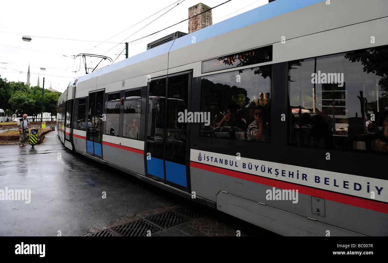 Sreet Scene, Istanbul , Turkey - Stock Image