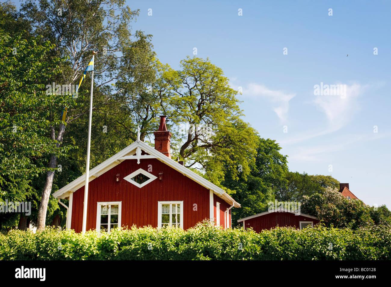 Kalmar Slott (Sweden) - Stock Image
