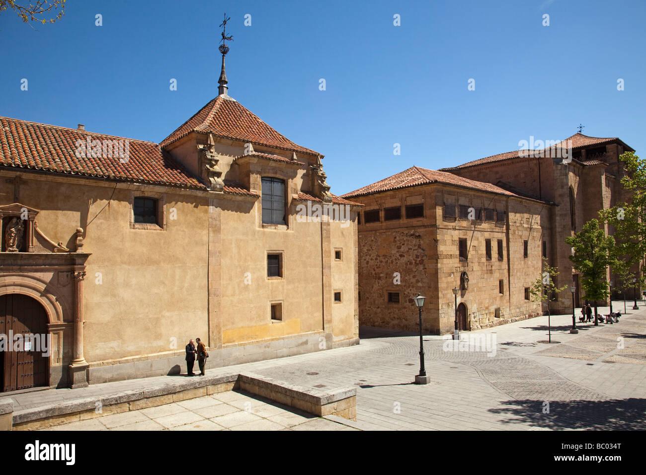 Chapel of the Veracruz and Santa Ursula convent of Salamanca Castilla Leon Spain - Stock Image