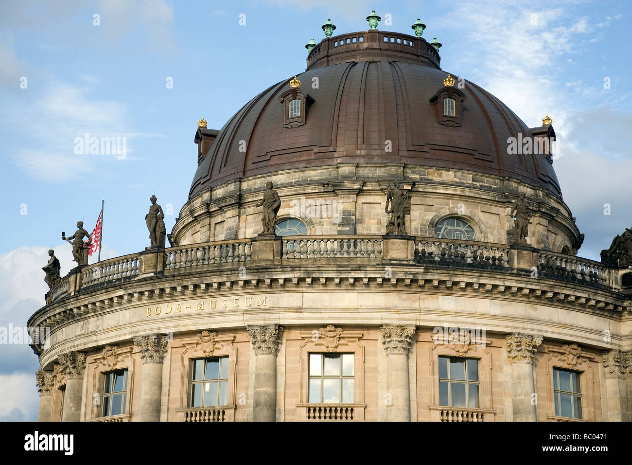 Bode Museum, Berlin, Germany - Stock Image