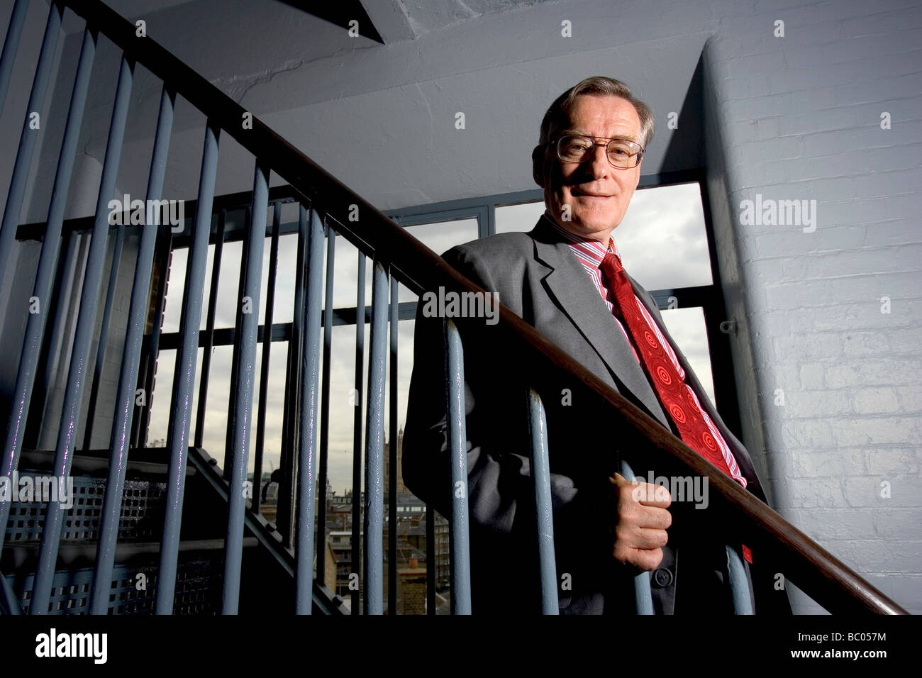 Sir Ewan Harper CBE Chief Executive of the Christian educational charity ULT United Learning Trust Stock Photo