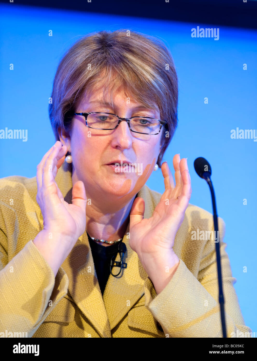 Former British Home Secretary Jacqui Smith MP - Stock Image