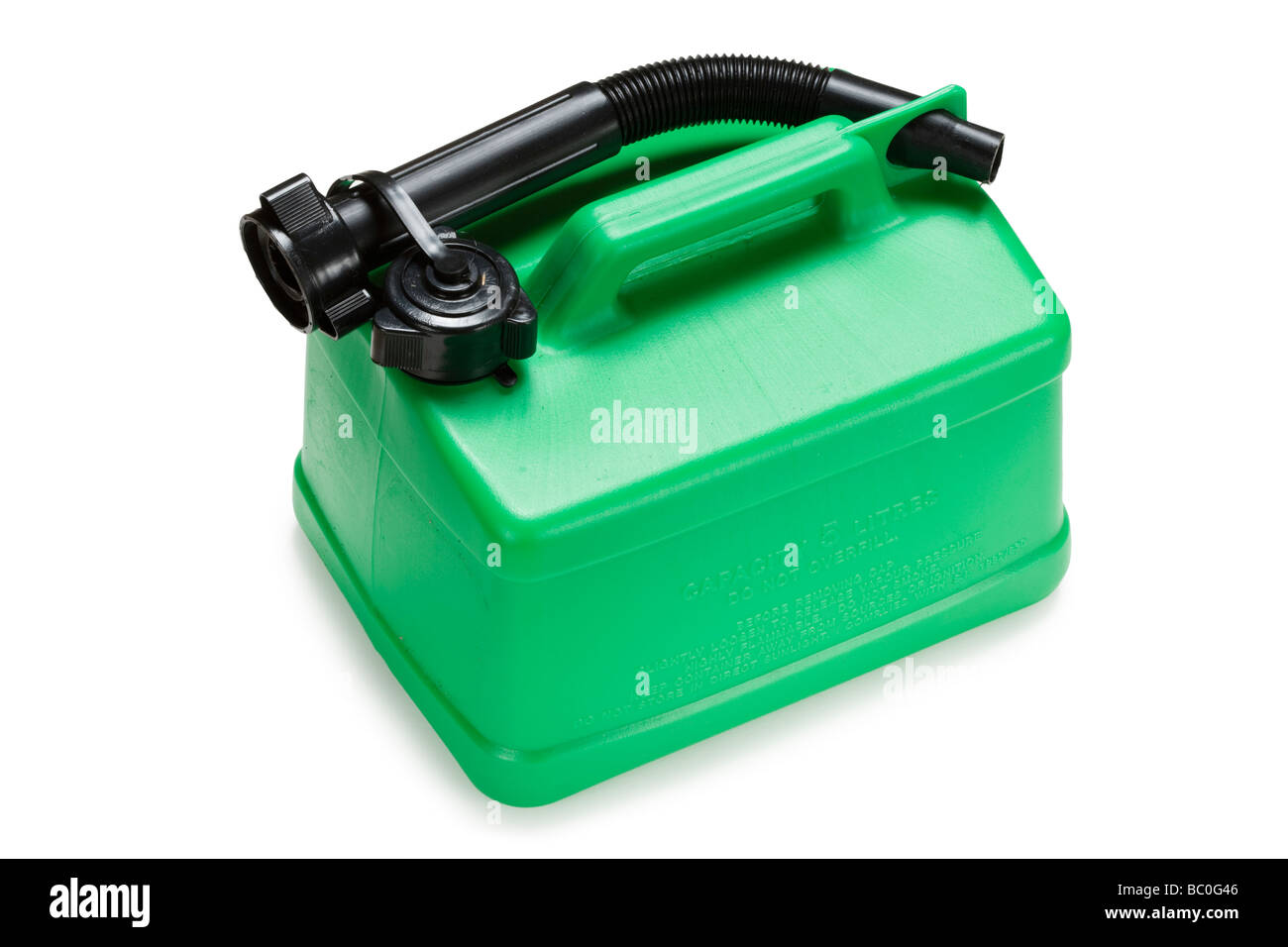 Fuel can. Petrol/diesel. - Stock Image