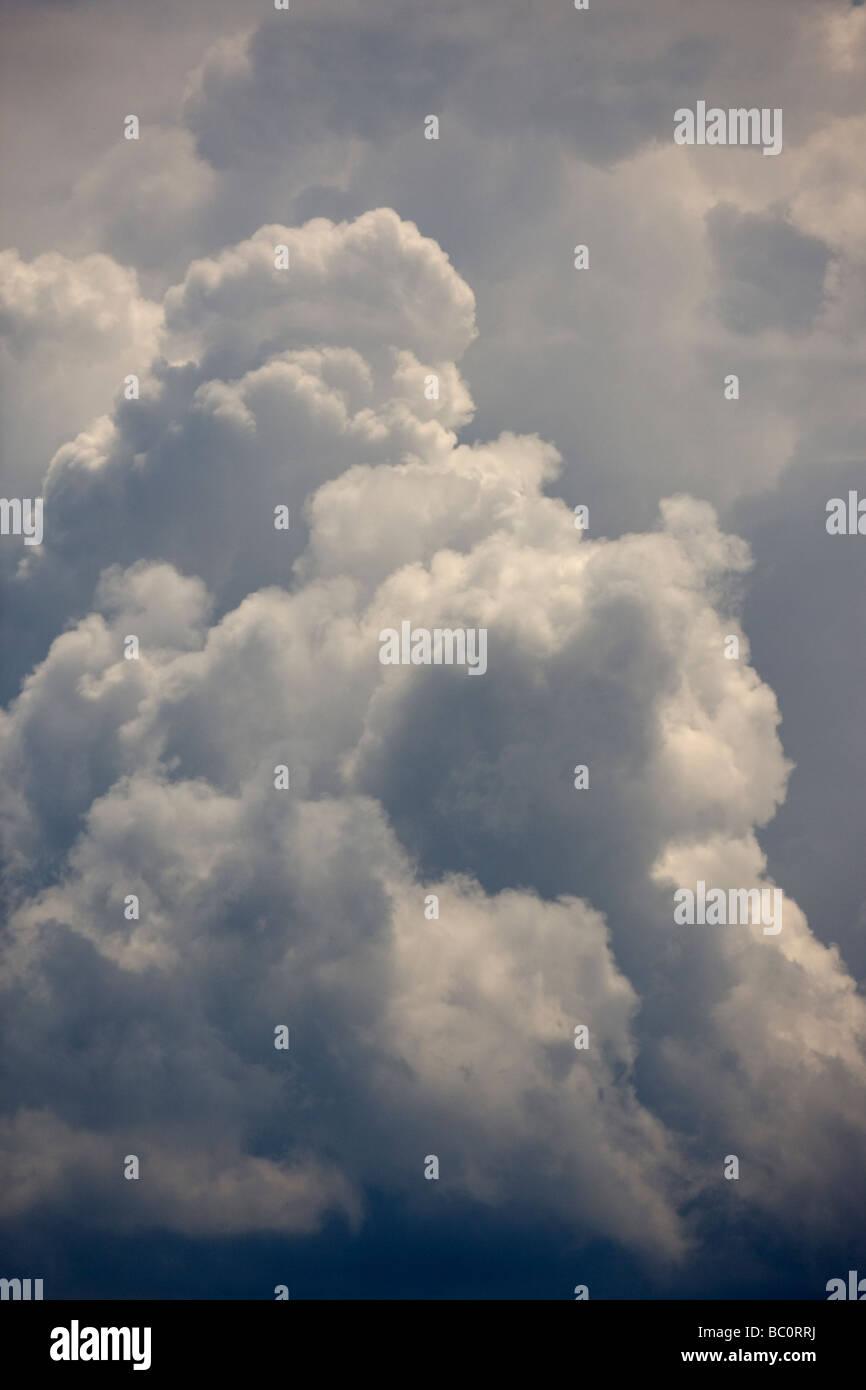 Cumulonimbus clouds - Stock Image