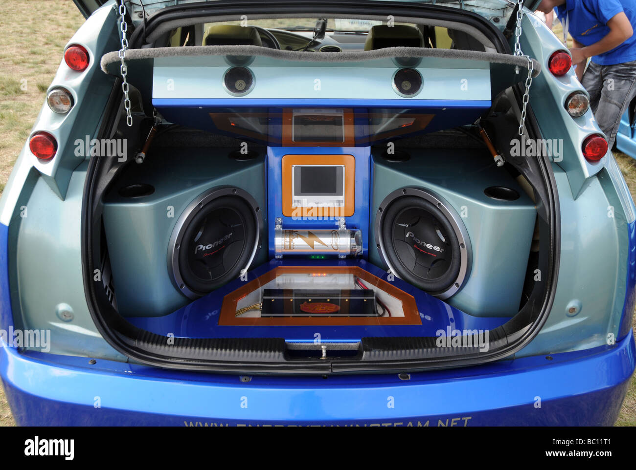 modified ford focus during car audio systems and tuning. Black Bedroom Furniture Sets. Home Design Ideas