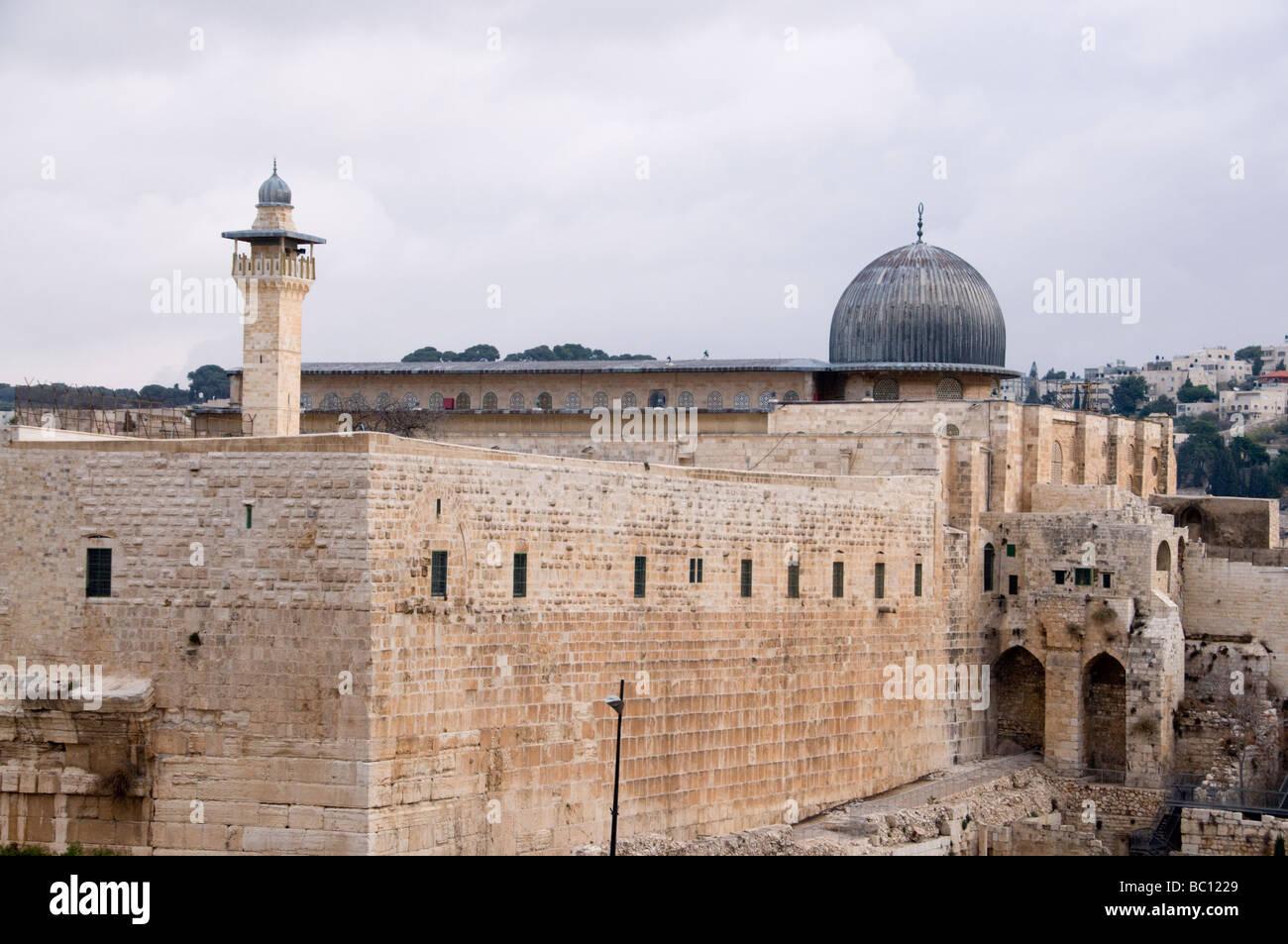 Al Aqsa Mosque Jerusalem Israel - Stock Image