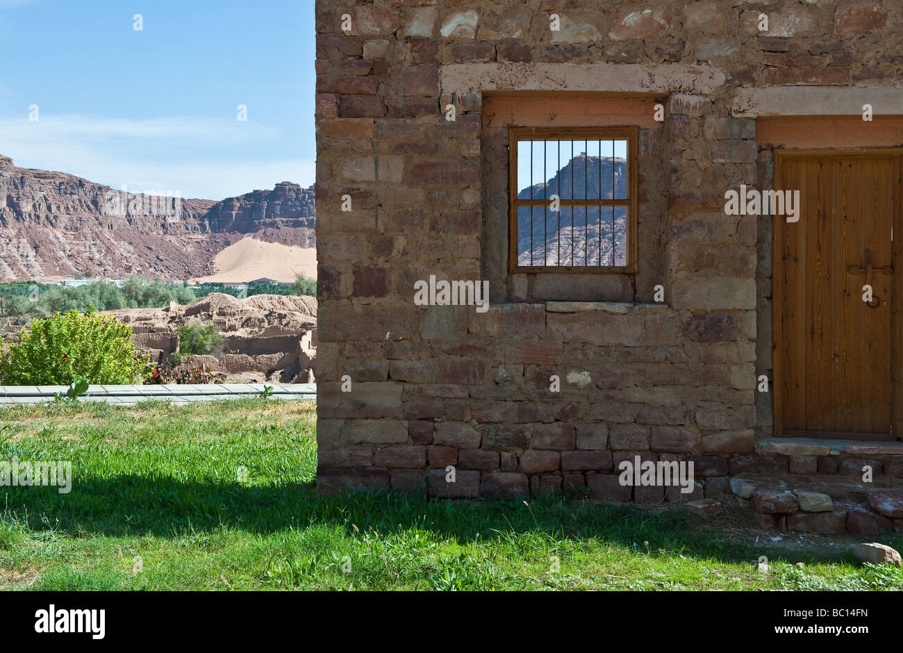 Al Ula the ruins of the old city - Stock Image