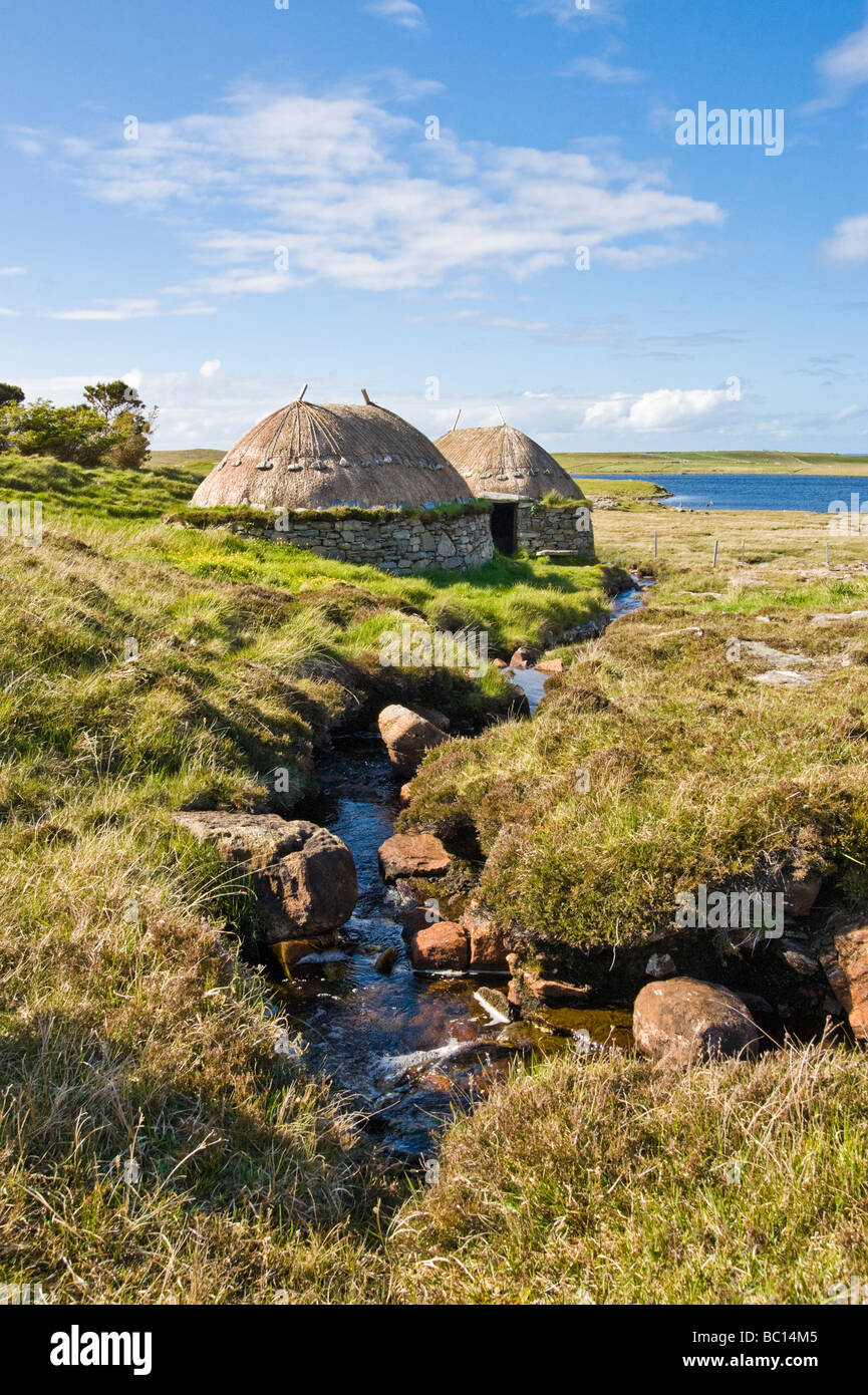 Shawbost Norse Mill and Kiln near the townshiip of Shawbost on west coast of the Isle of Lewis Outer Hebrides Soctland - Stock Image