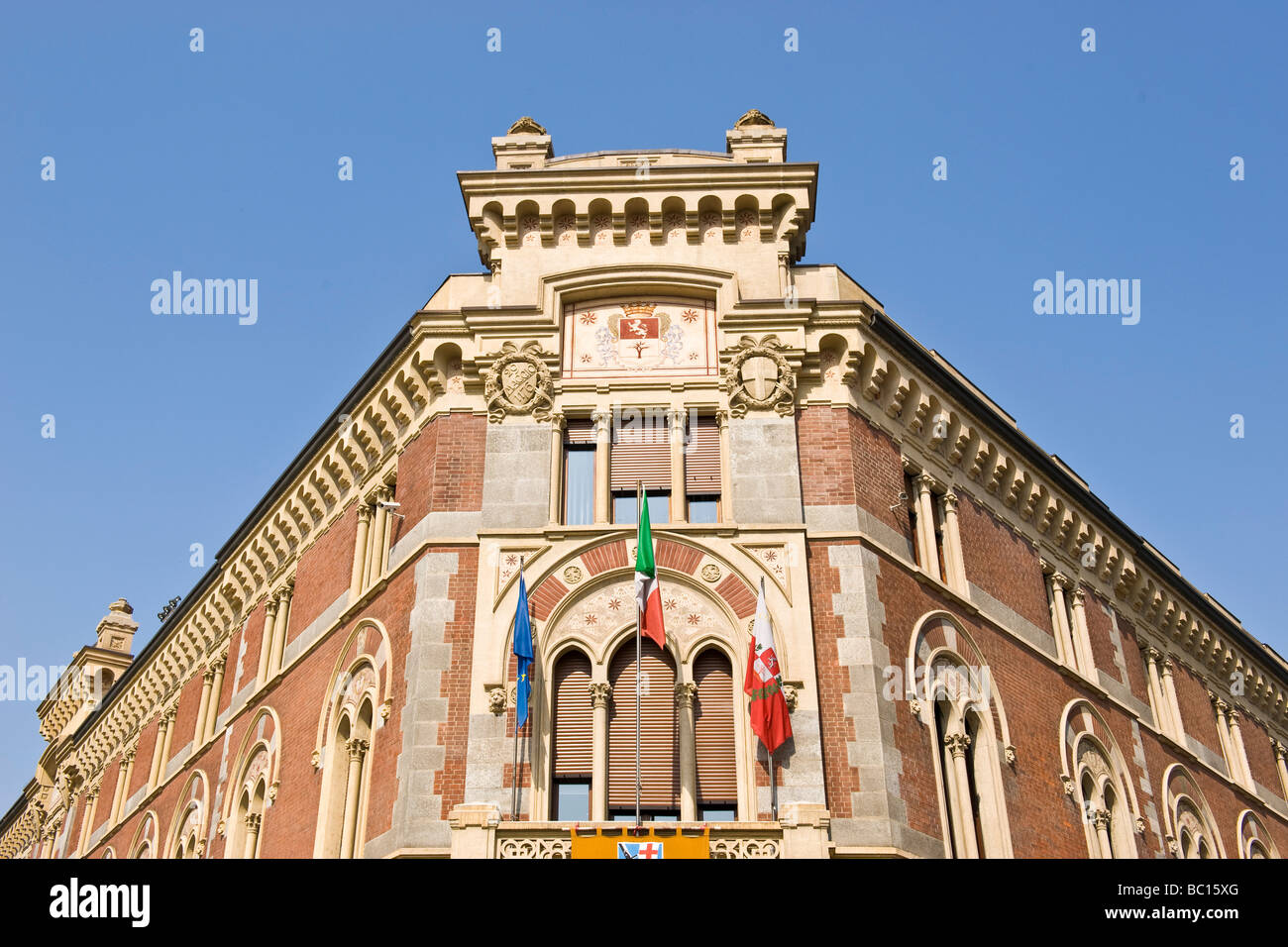 building of the municipality legnano province of milan - Stock Image