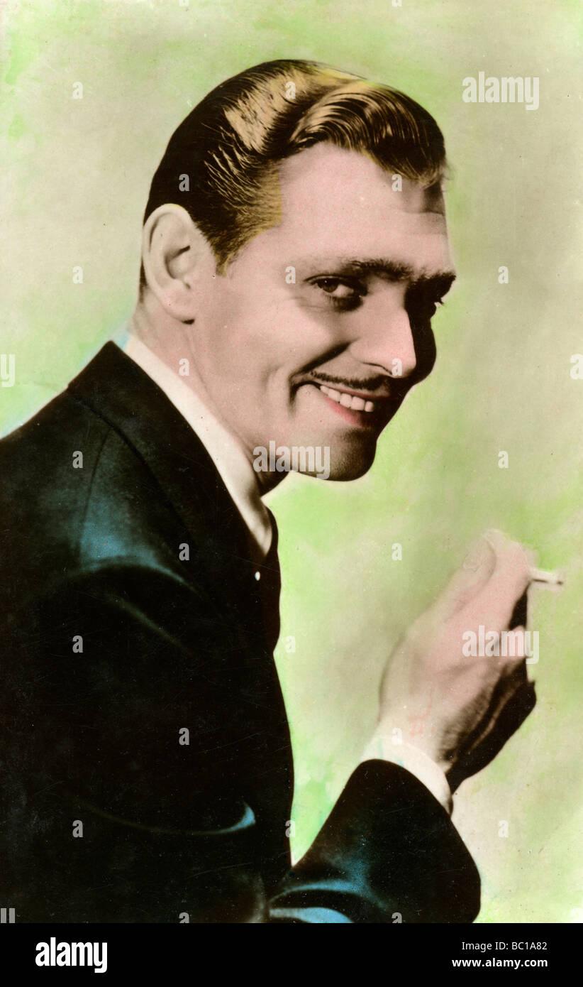 Clark Gable, American actor, 20th century. - Stock Image
