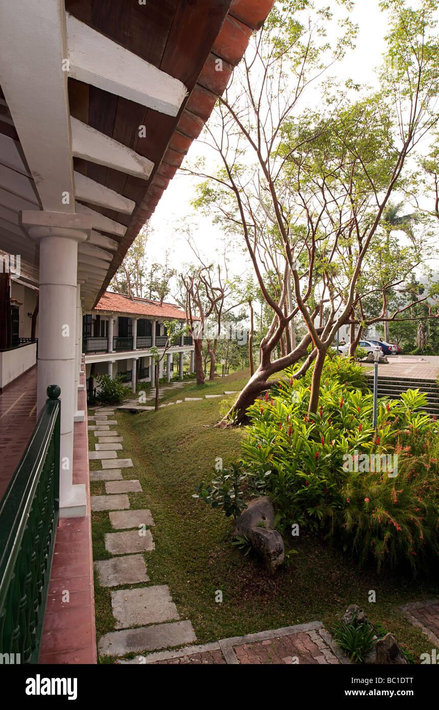 Hotel La Moka, Las Terrazas, Cuba - Stock Image