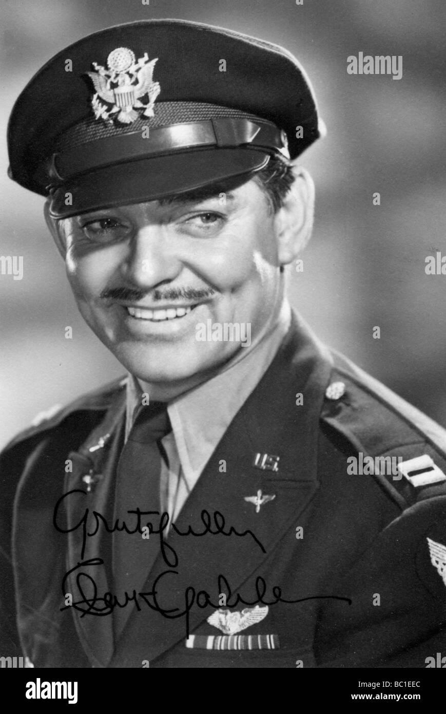 Clark Gable, American actor, c1942-1945. - Stock Image