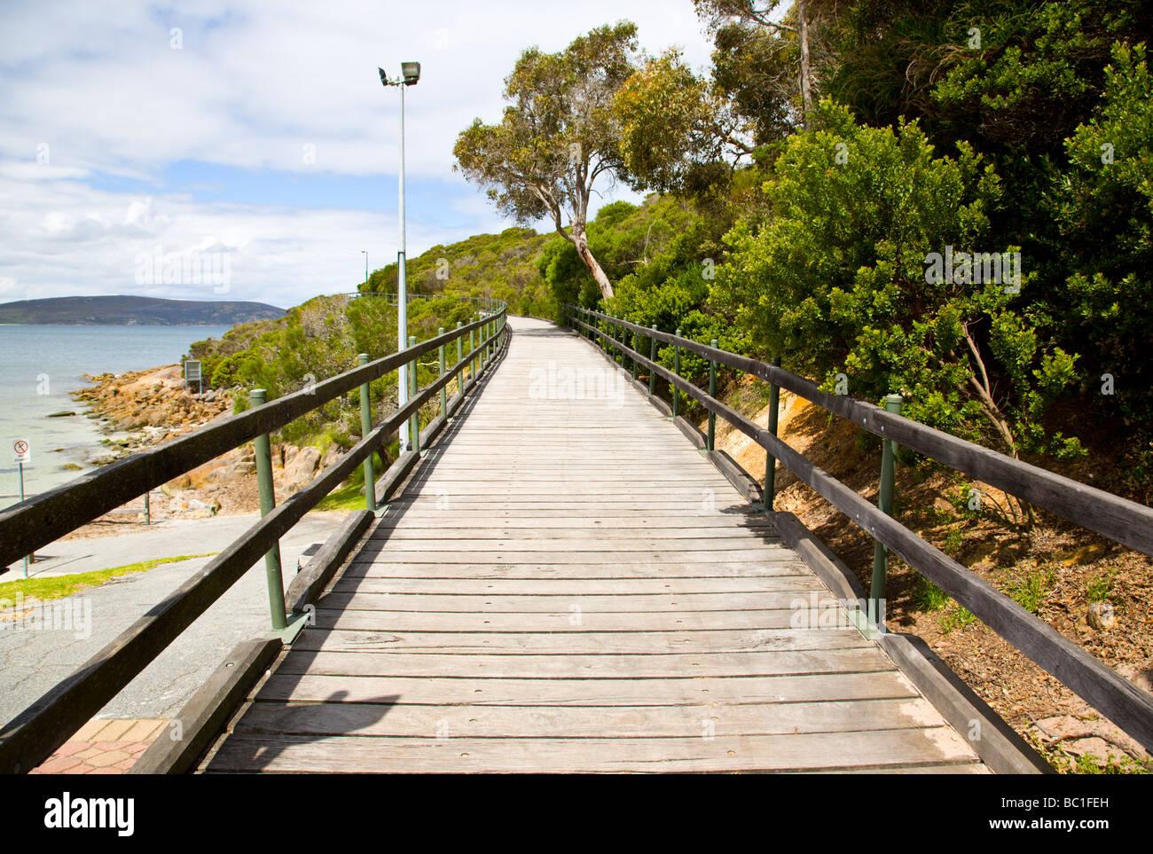 Ellen Cove Boardwalk Albany South West Western Australia WA Stock Photo
