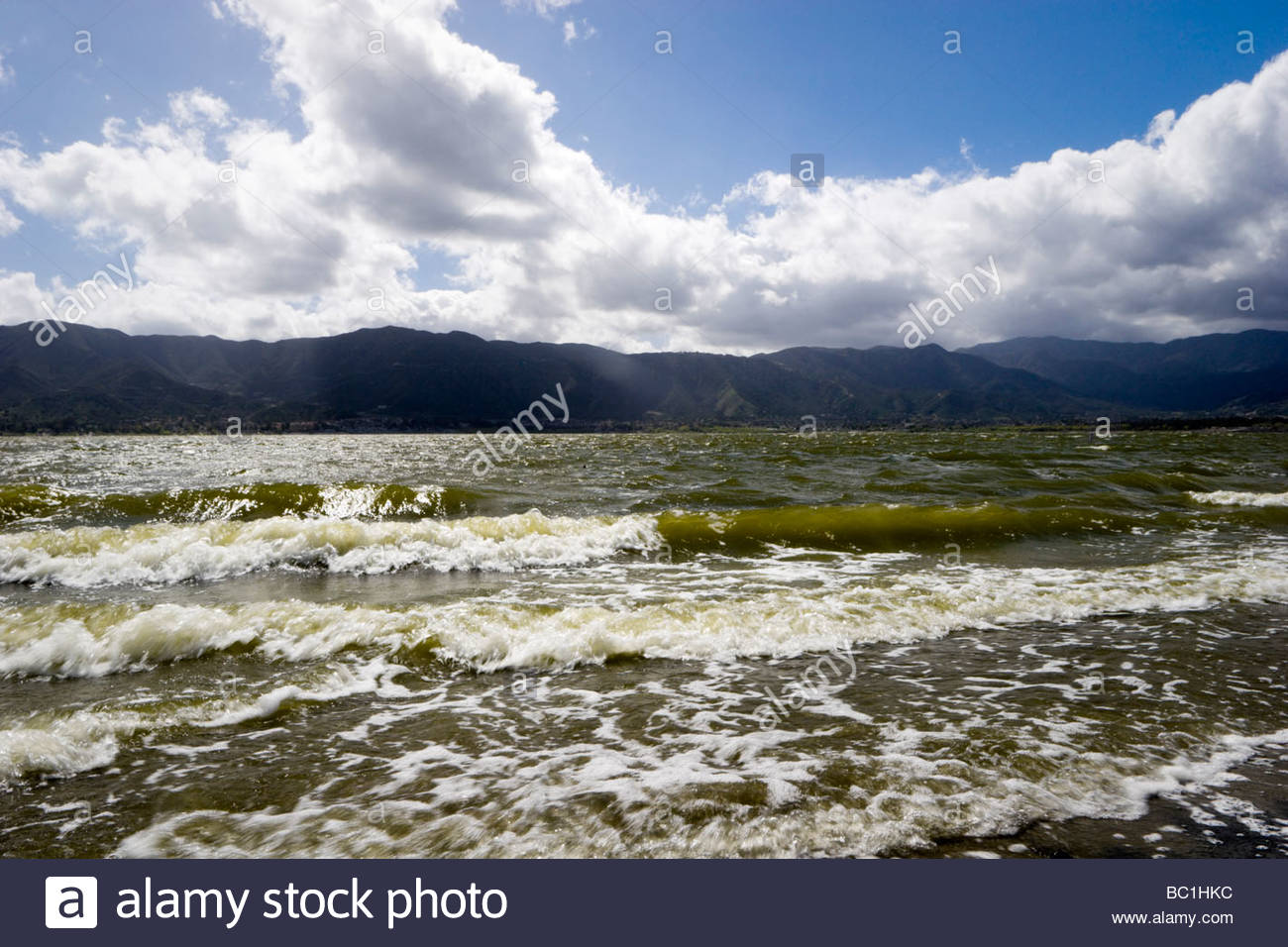 Lake Elsinore California - Stock Image