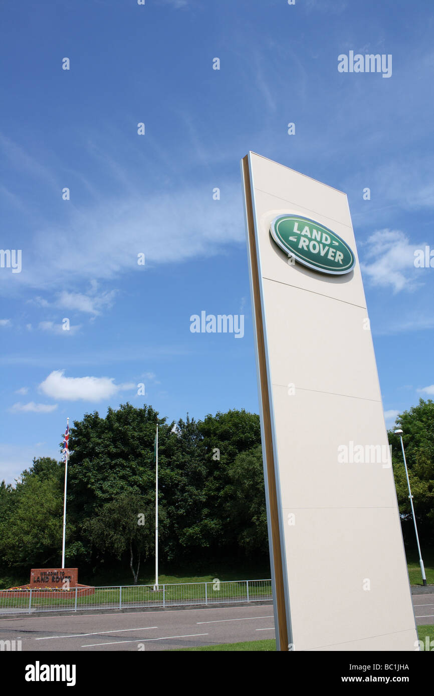 Land Rover plant, Lode Ln, Solihull West Midlands England 2009 - Stock Image