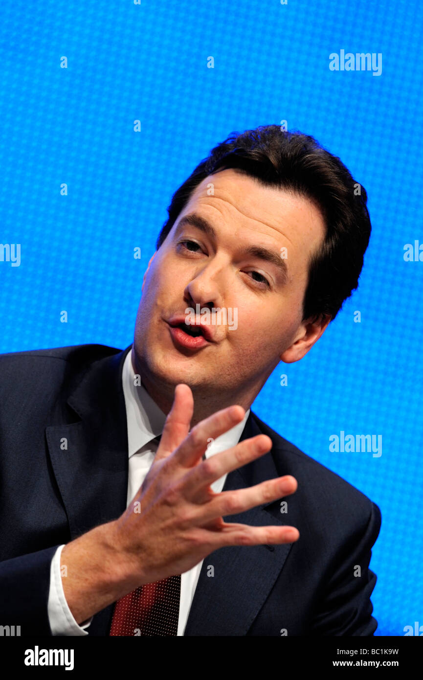 George Osborne MP, Chancellor of the Exchequer - Stock Image