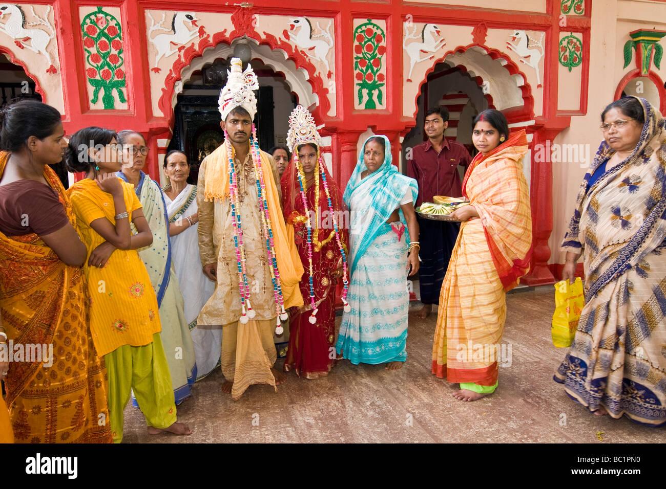 bangladesh dhaka Hindu Marriage - Stock Image