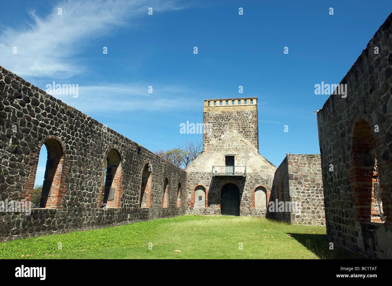 Sint Eustatius old protestant church - Stock Image