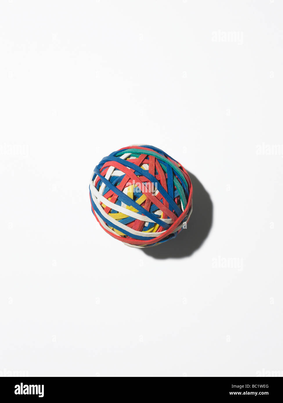 rubber ball band - Stock Image