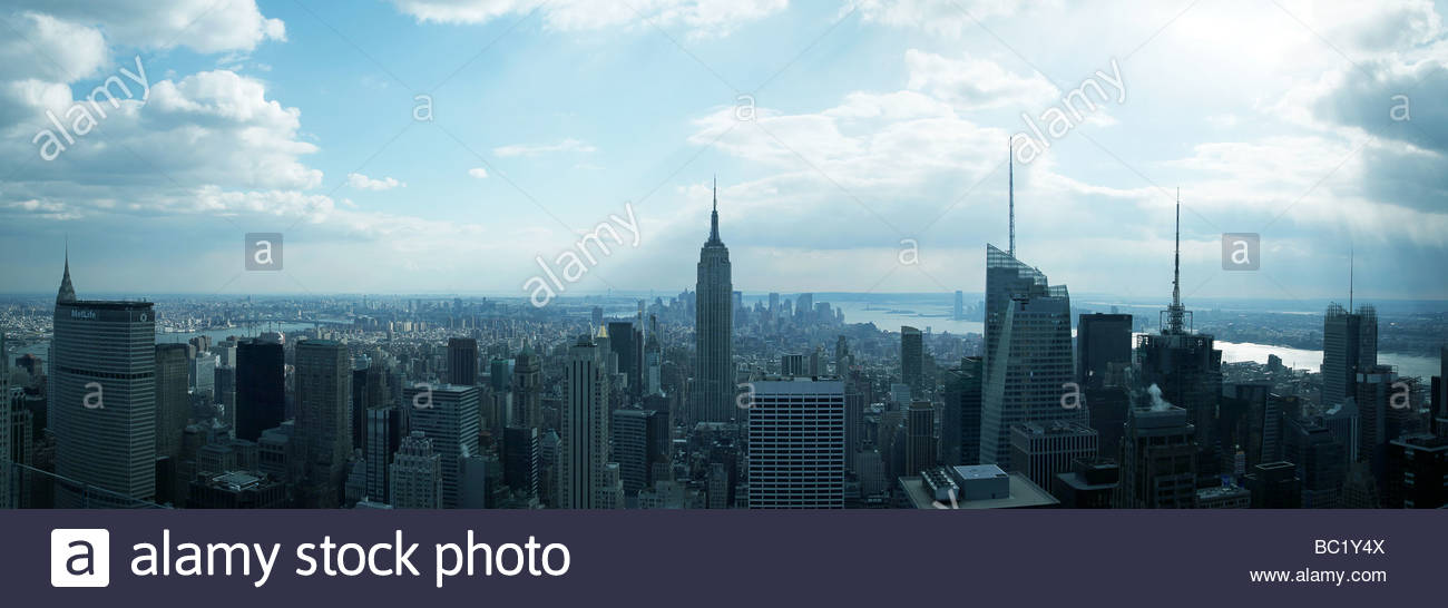 NYC_Panorama - Stock Image