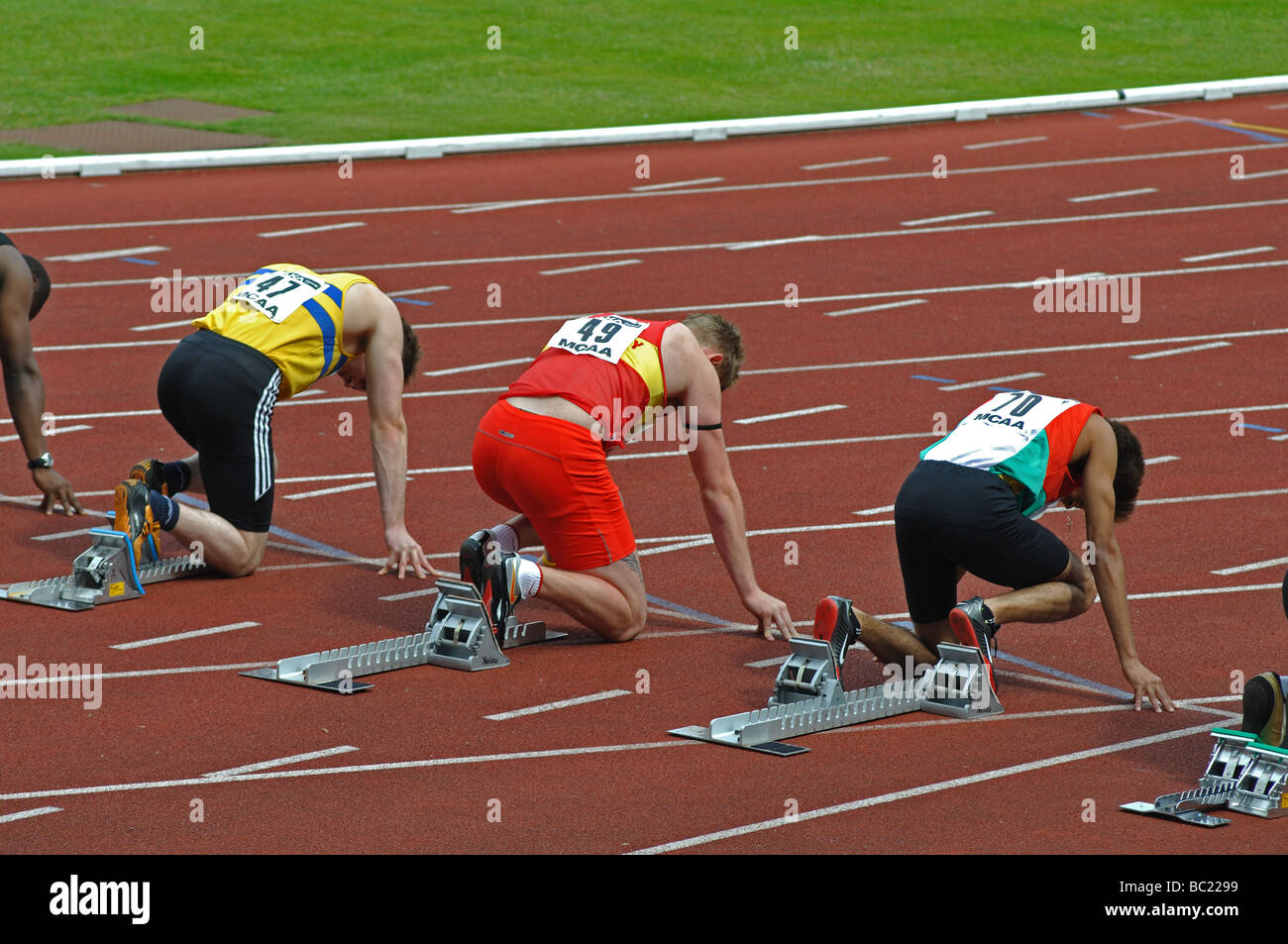 Starting Blocks Stock Photos Amp Starting Blocks Stock