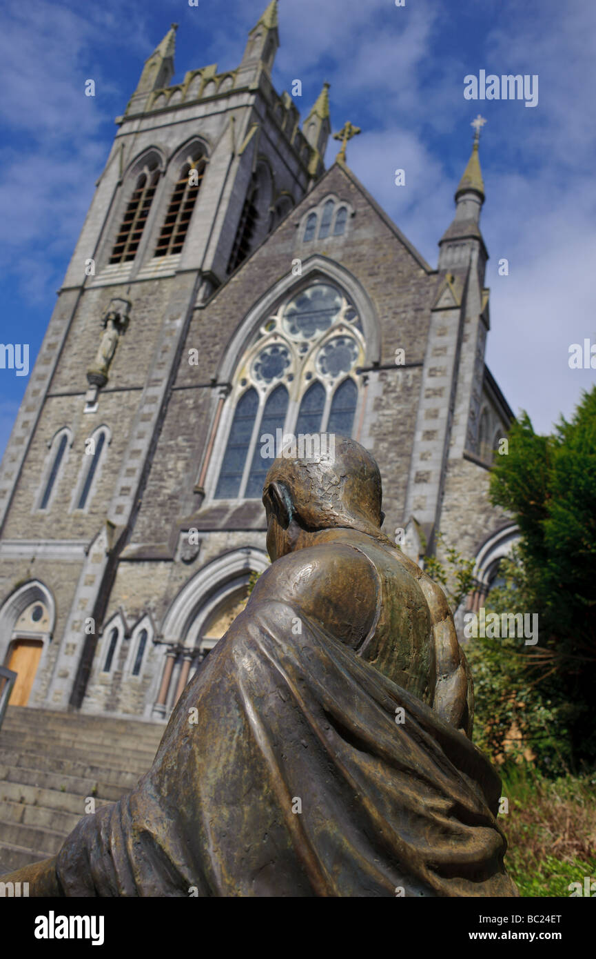 St. Mary's Catholic Church in Carrick on Shannon Ireland - Stock Image
