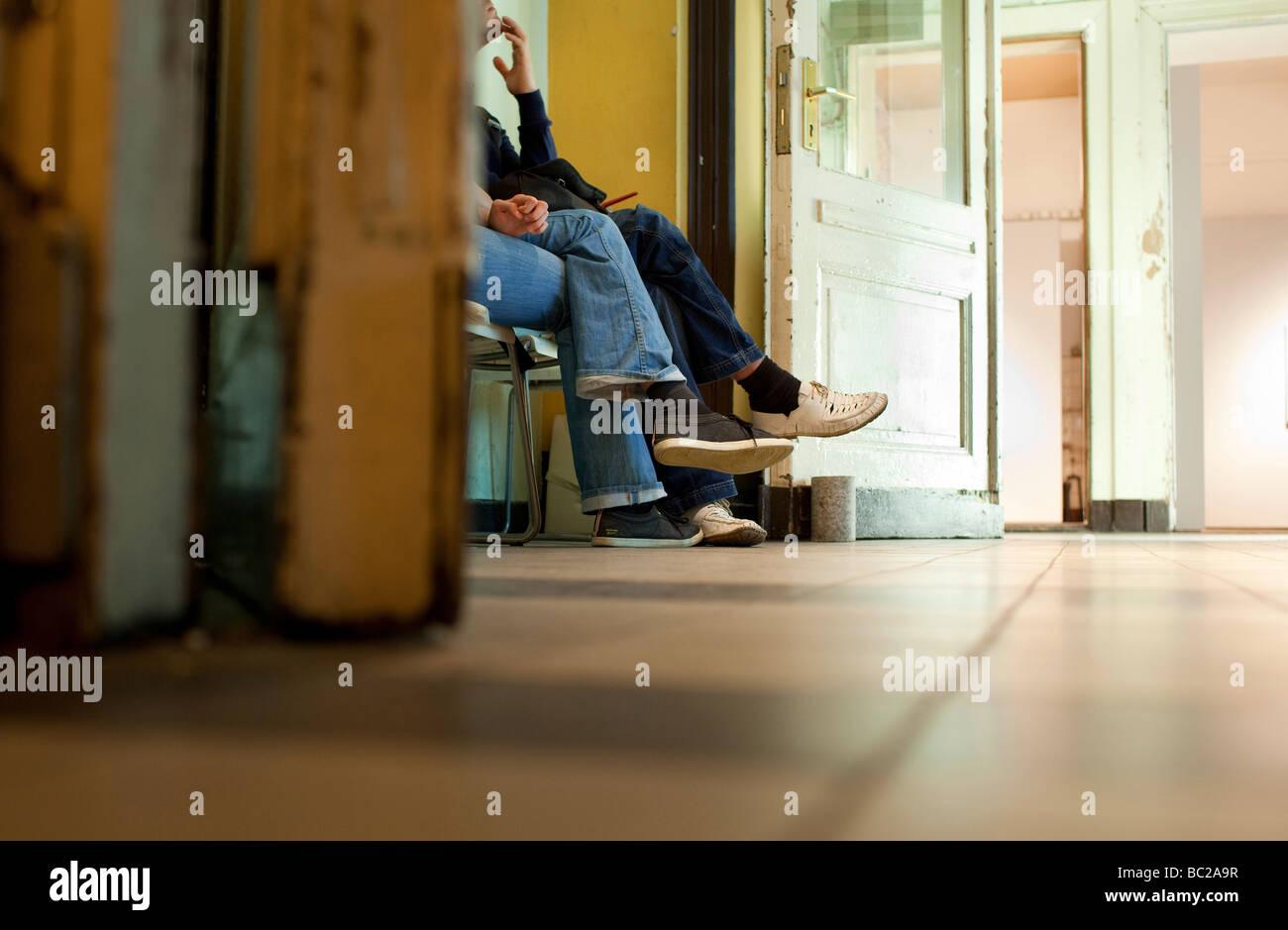 Employment center - Stock Image