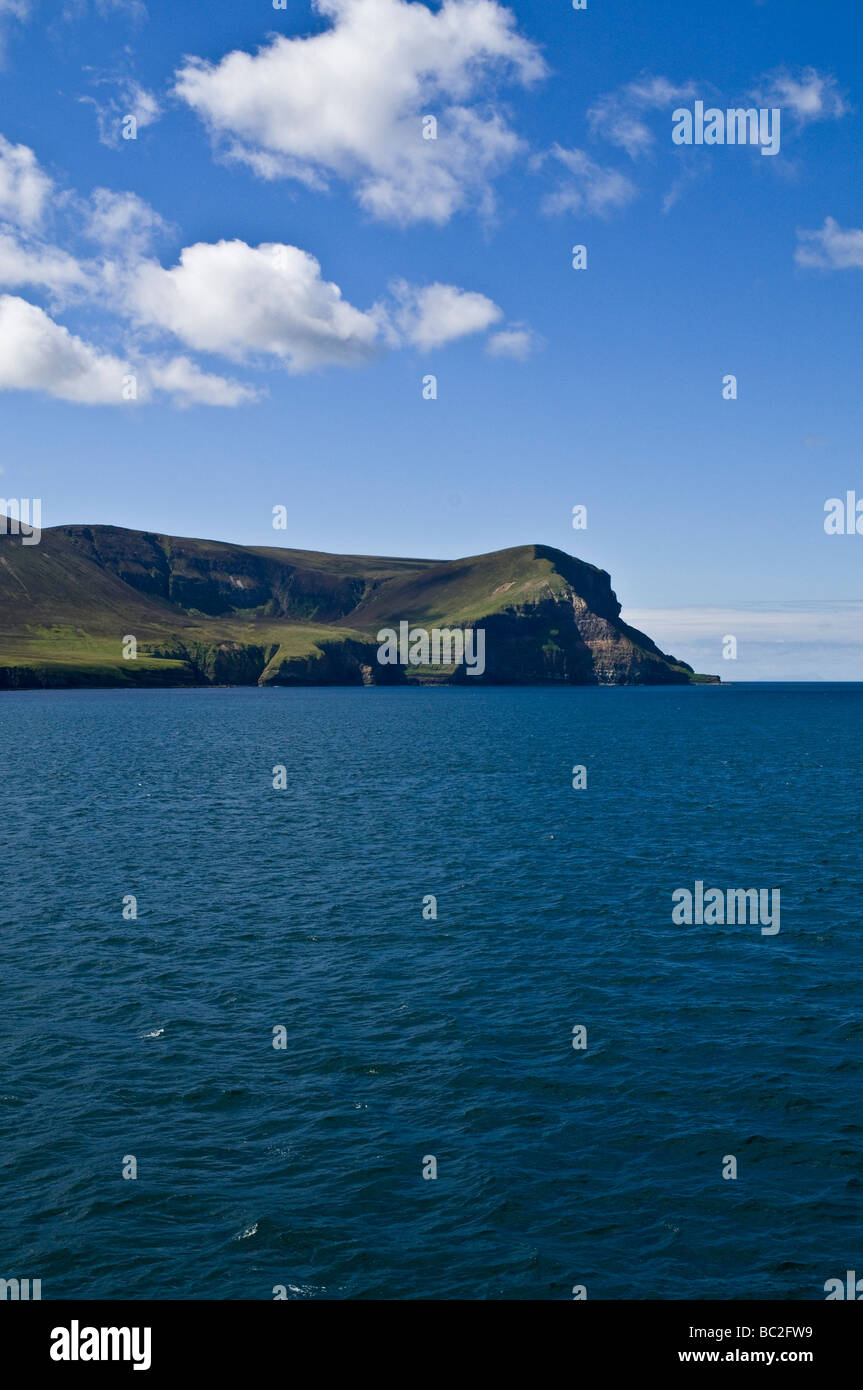 dh  HOY SOUND ORKNEY Cuilags and Kame of Hoy Stock Photo