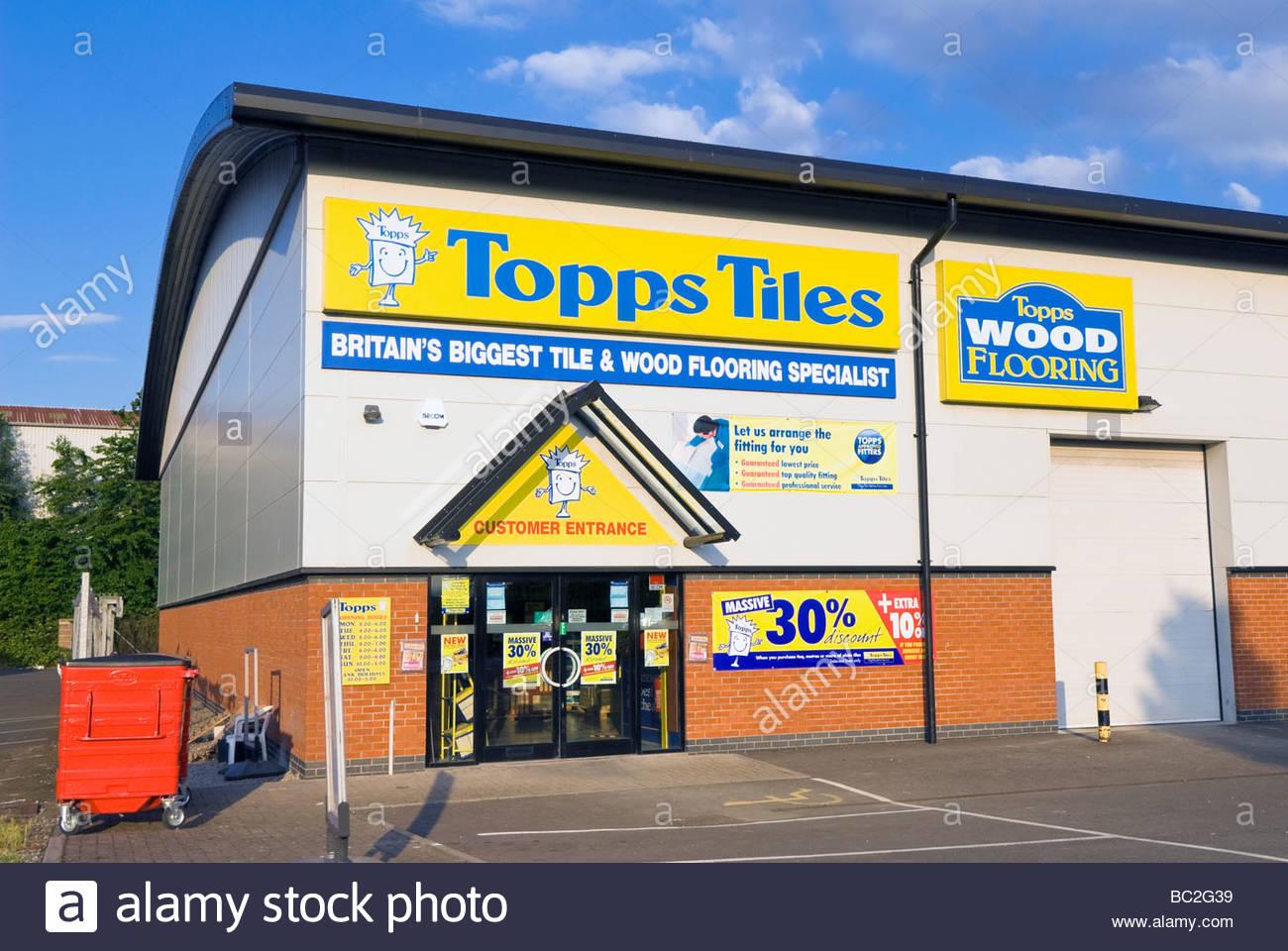 Topps Tiles Britains biggest tile & wood flooring specialist Stock ...
