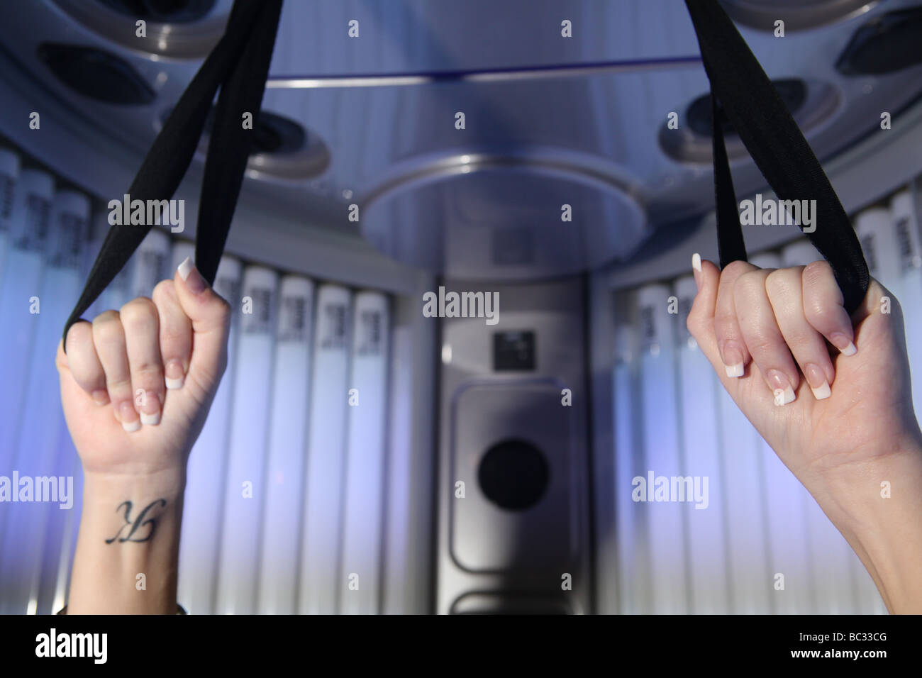 Tanning Booth Stock Photos & Tanning Booth Stock Images - Alamy