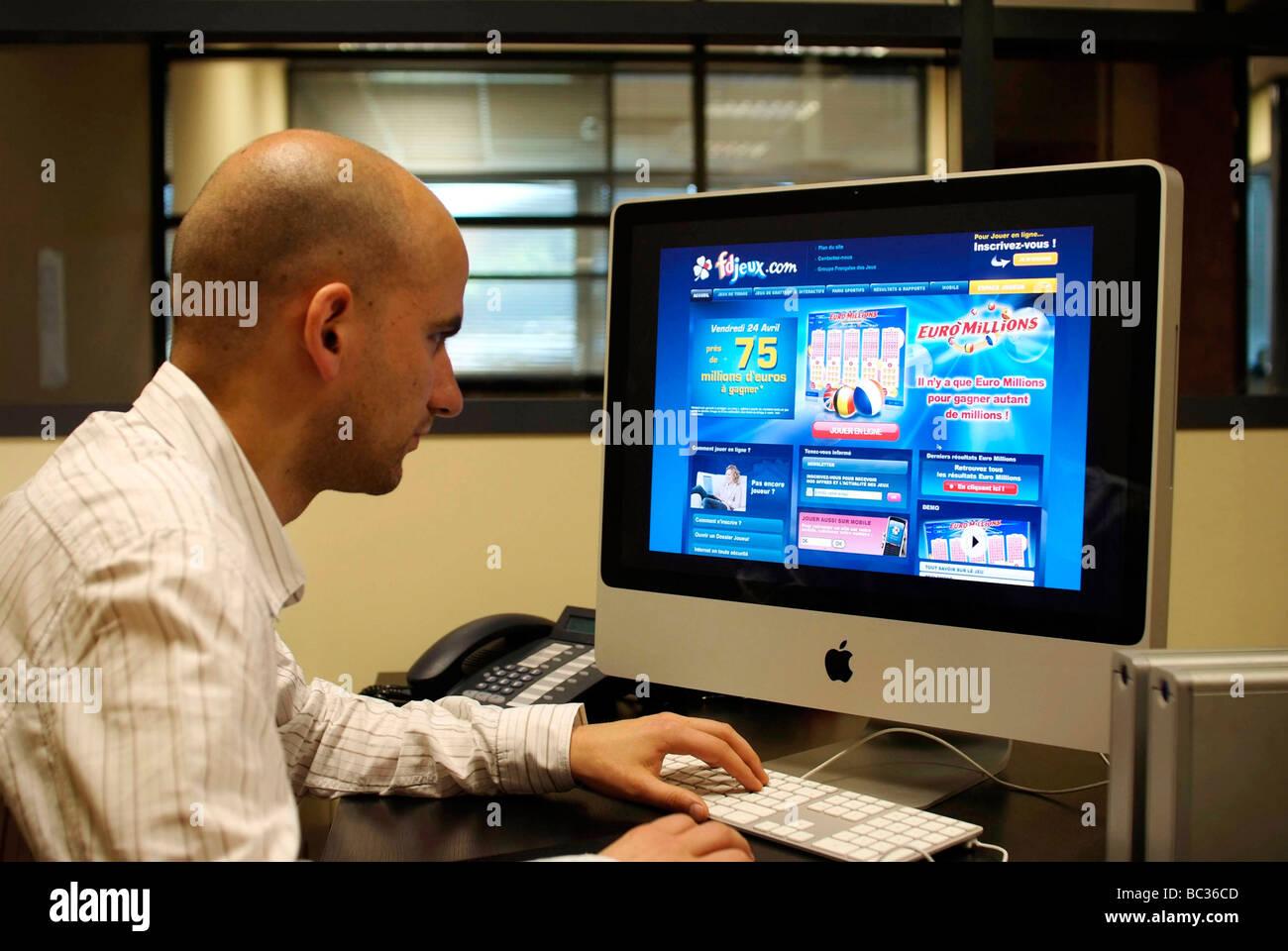 Online games - Stock Image