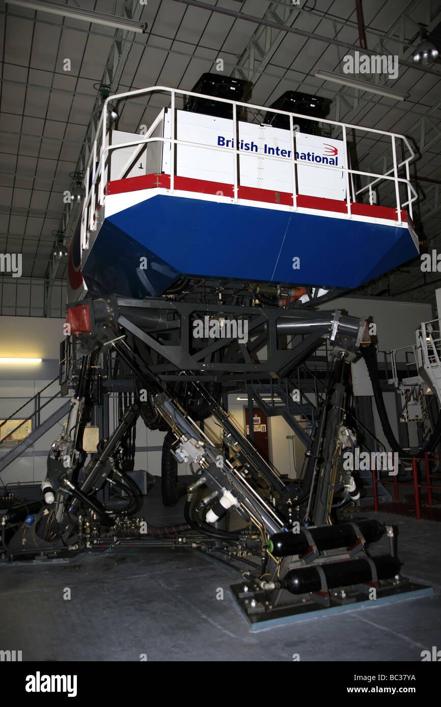 Boeing 747 Jumbo Jet Flight Simulator of British