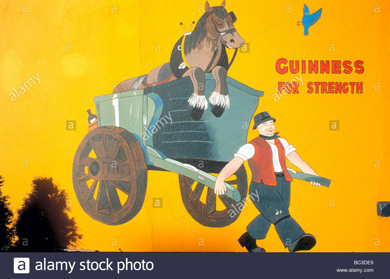 Ireland - Guinness-advertising Stock Photo: 24662689 - Alamy