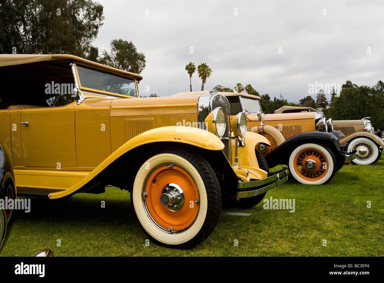 Los Angeles Concours D Elegance Rose Bowl Pasadena California United - Pasadena car show