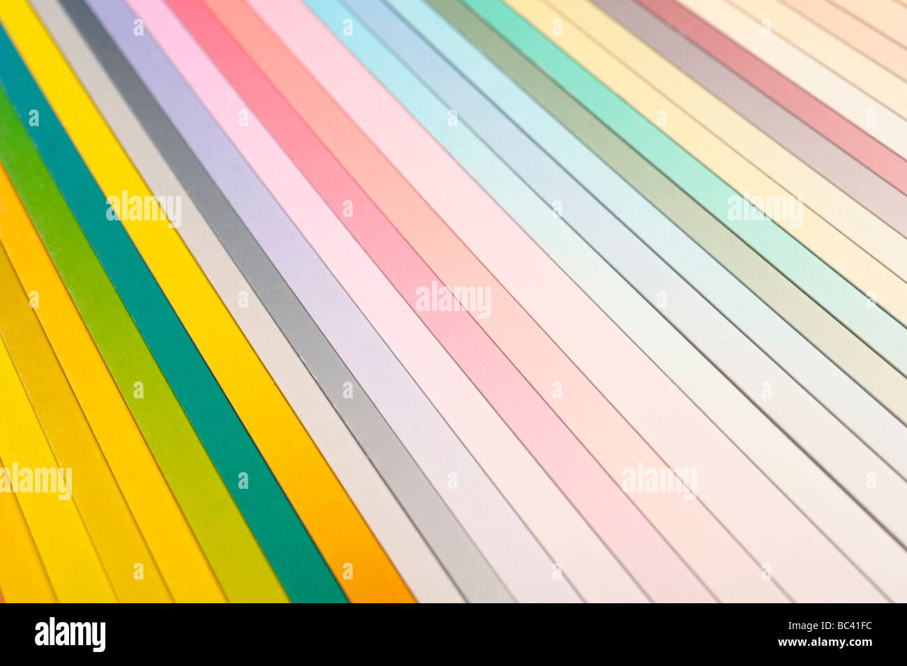 Abstract coloured paper - Stock Image
