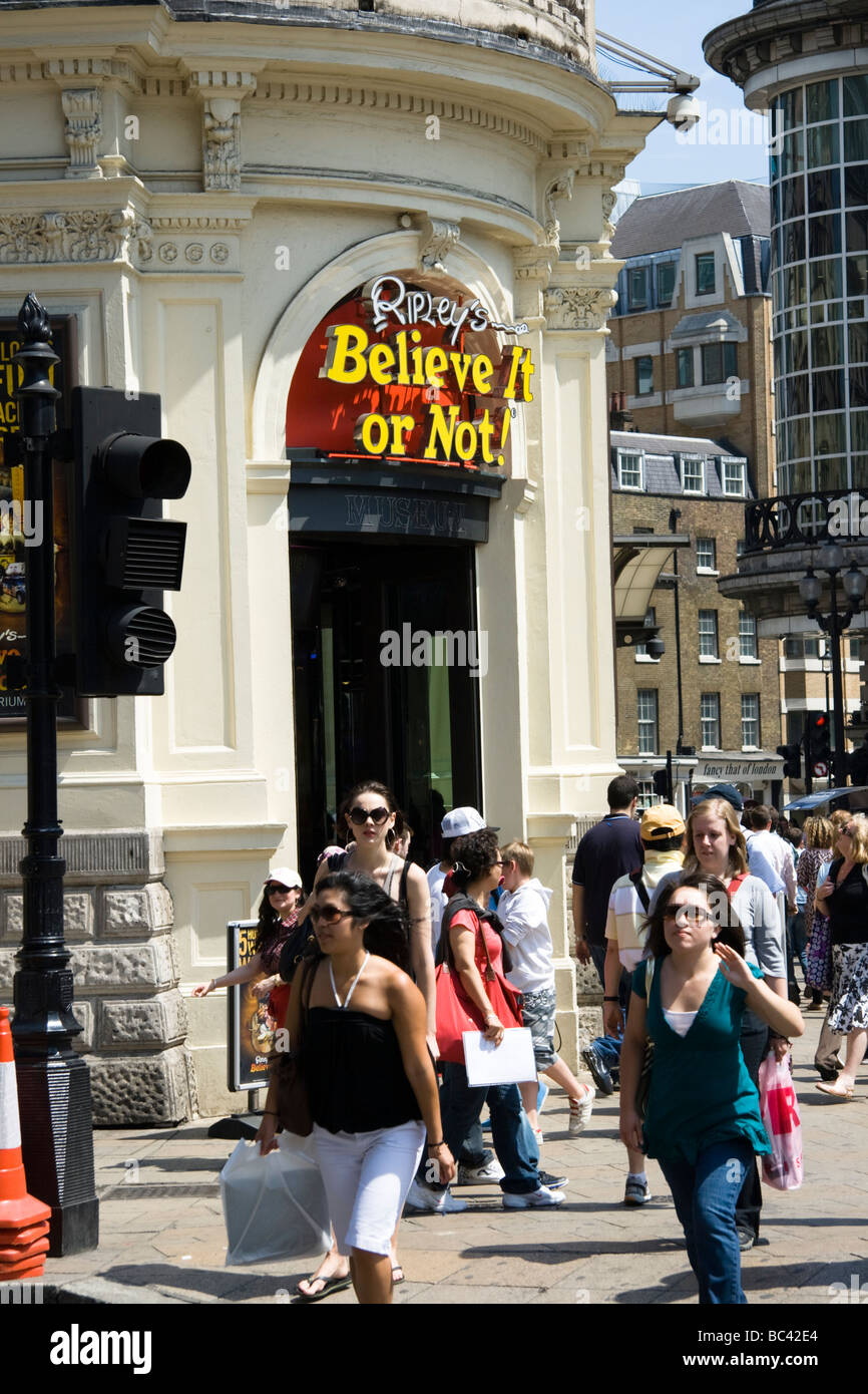 Ripleys Believe It OR Not Picadilly London England UK - Stock Image