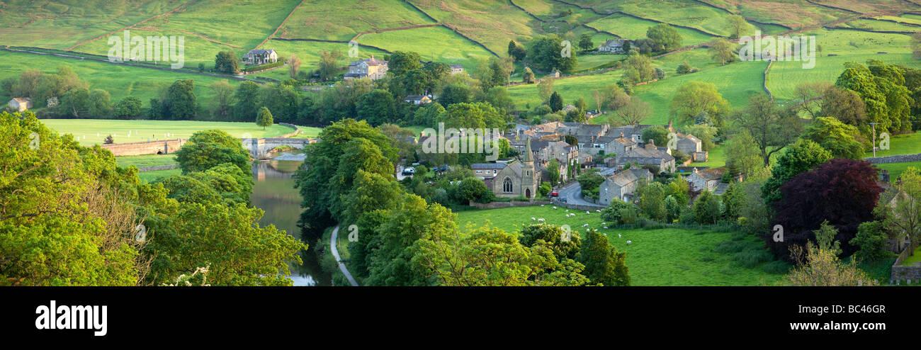 Burnsall, Yorkshire Dales, North Yorkshire, England - Stock Image