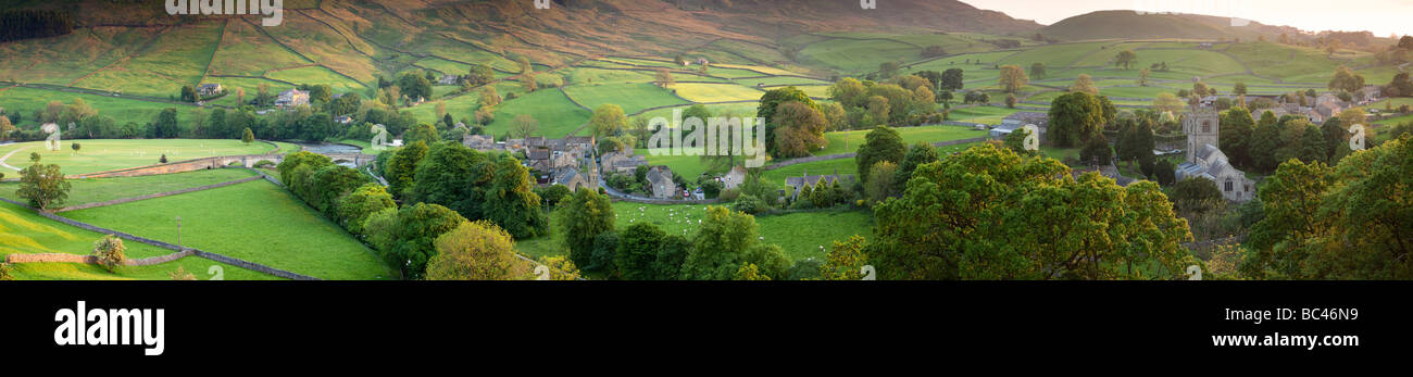 Burnsall, Yorkshire Dales, North Yorkshire, England - Stock Image