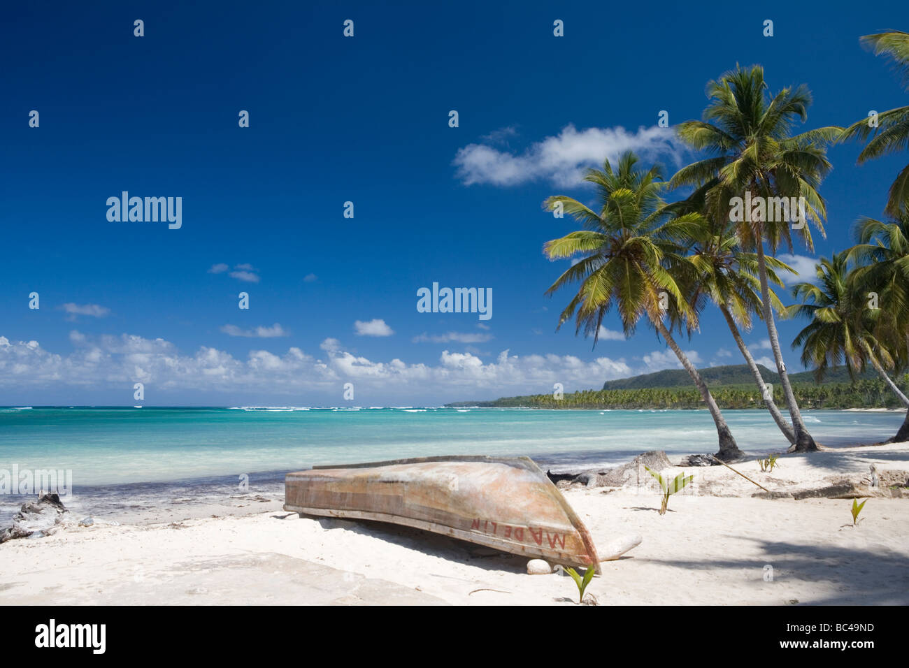 Dominican Republic - North Coast - Samana Peninsula - Las Galeras Stock Photo