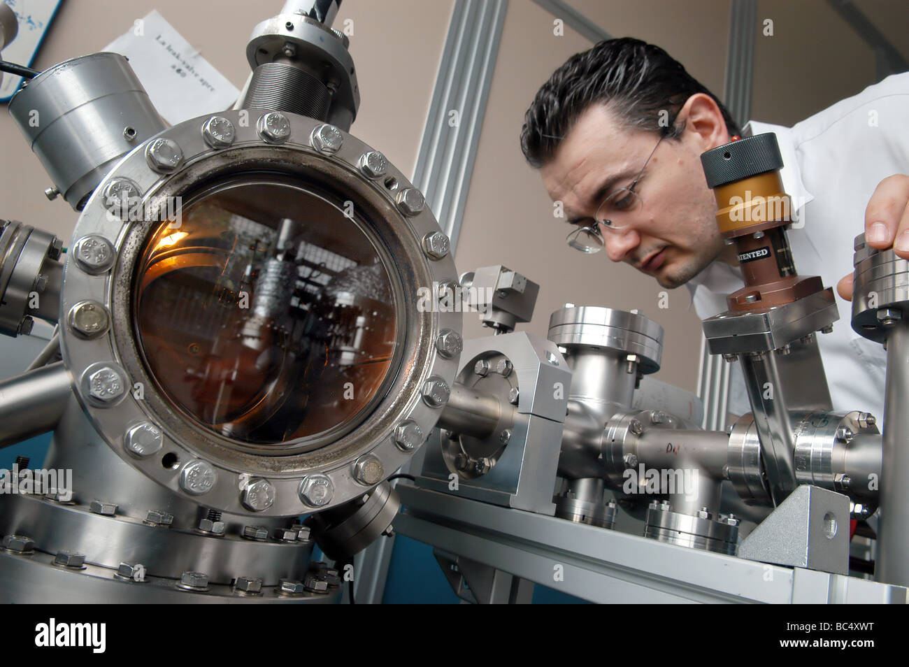Modena (Italy), INFM, National Institute for Matter Physics; national search center for nanotechnoloy - Stock Image