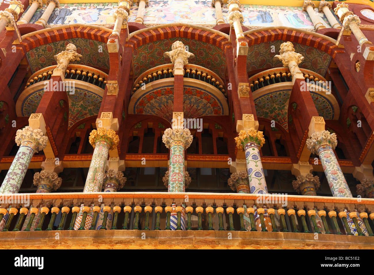 Casa de la musica stock photos casa de la musica stock images alamy - Casas de musica en barcelona ...