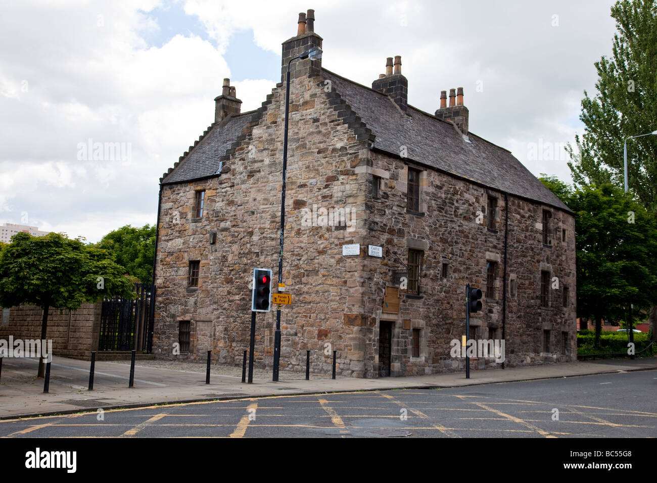 Built in 1471, Provand's Lordship, now a museum, is the only medieval house to survive, thus is 'the oldest - Stock Image