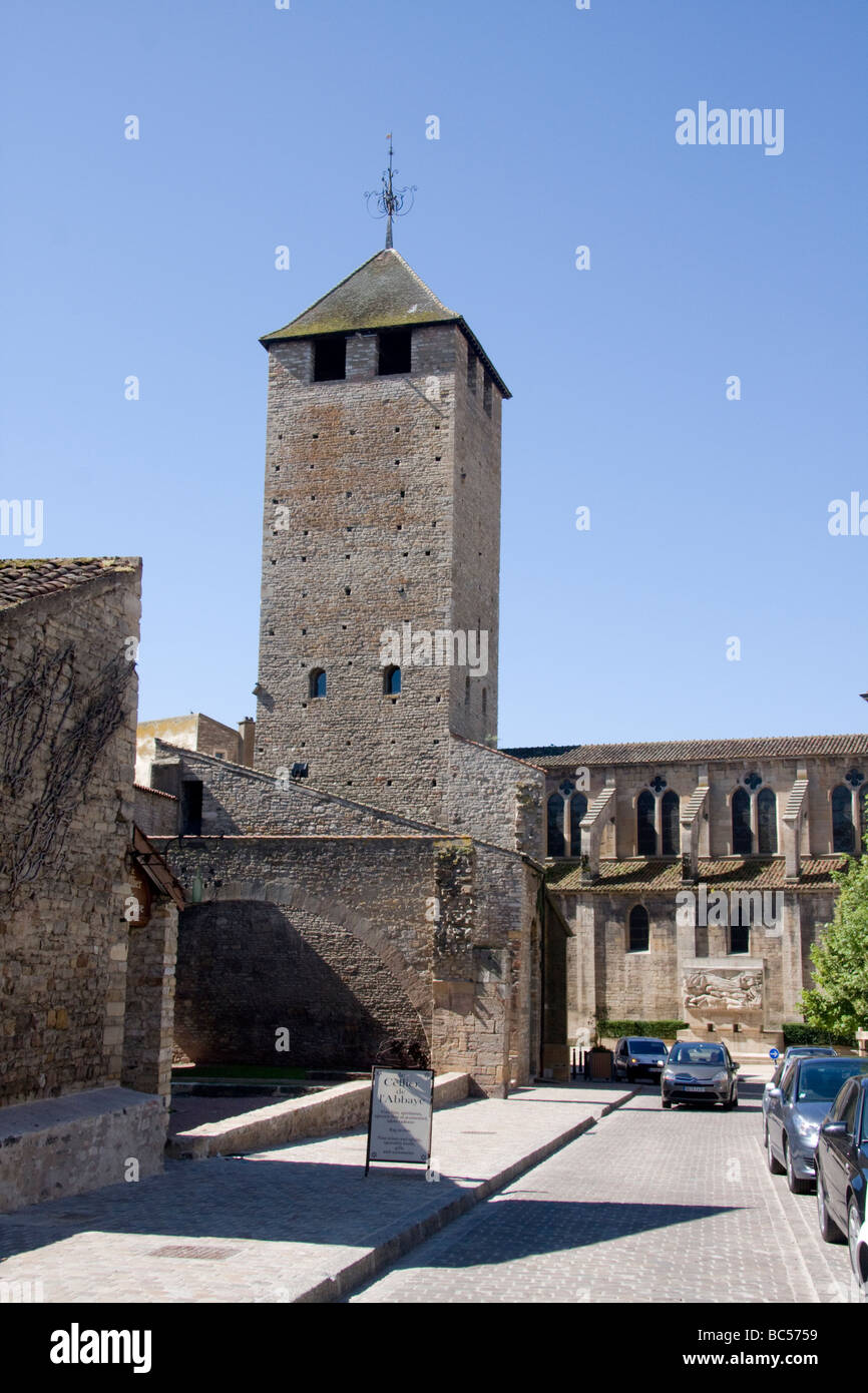 Tour des Fromage Cluny Burgundy France - Stock Image