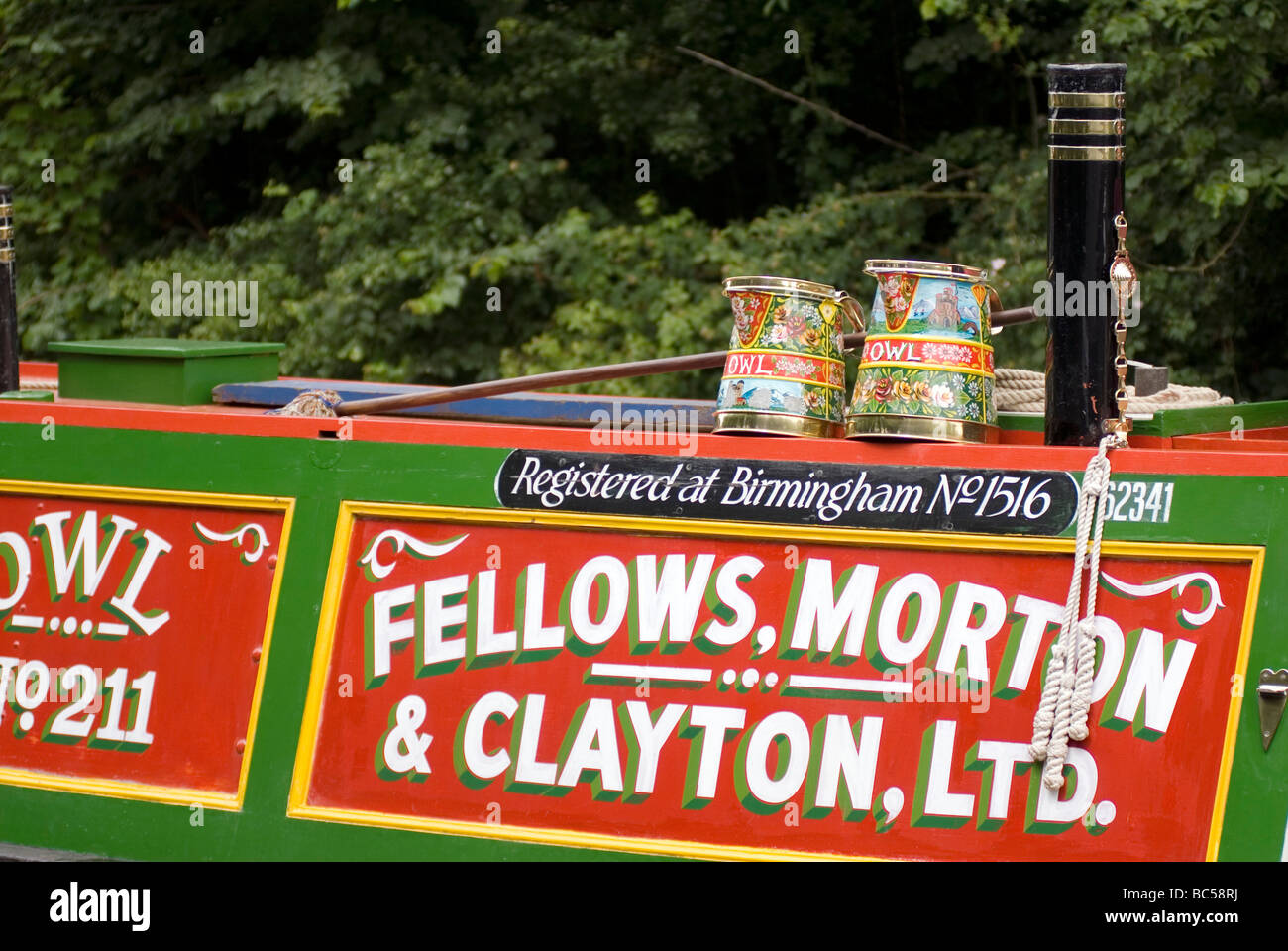2009 Braunston Historic Narrowboat Rally Doug Blane - Stock Image