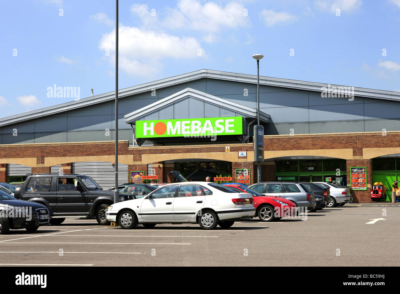 Homebase diy store and car park stock photo 24703550 alamy homebase diy store and car park solutioingenieria Images