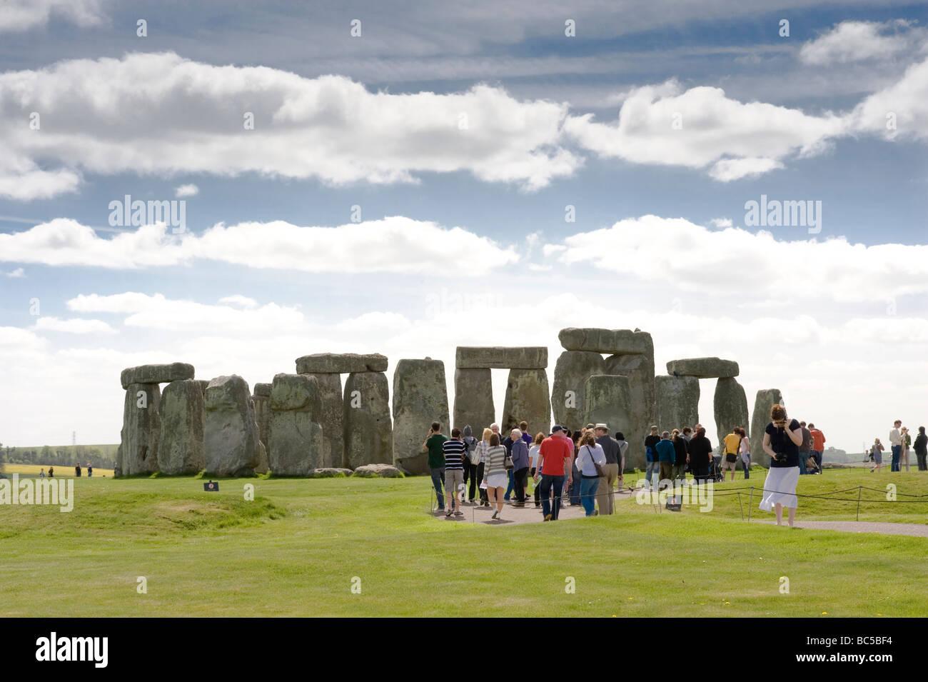 Stenehenge England - Stock Image